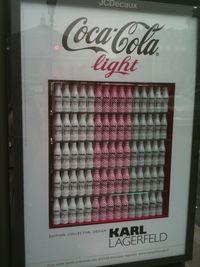 Coca-Cola Light selon Karl Lagerfeld